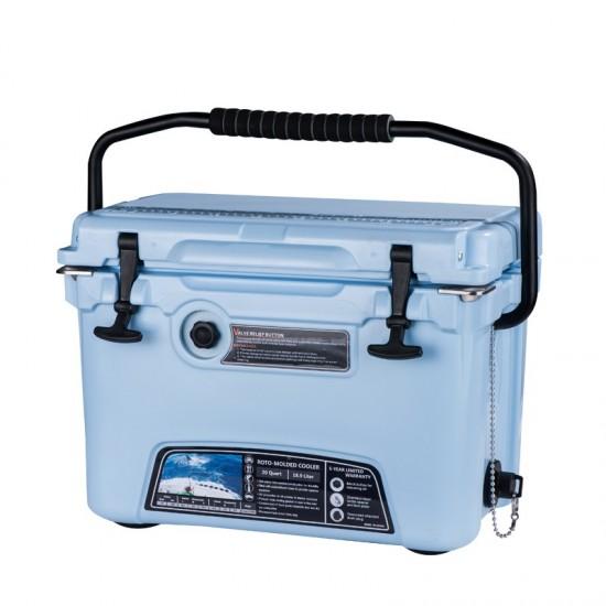 Five Day Cooler Box 20 Quartz - Built in Bottle Opener