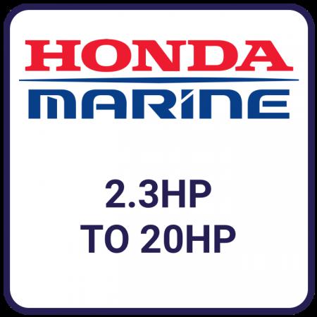 Honda 2.3hp to 20hp