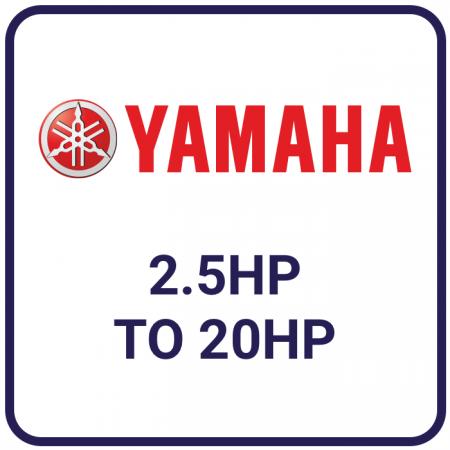 Yamaha 2.5hp to 20hp