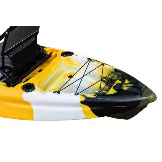 Cool Kayak Rodster fishing kayak with RUDDER