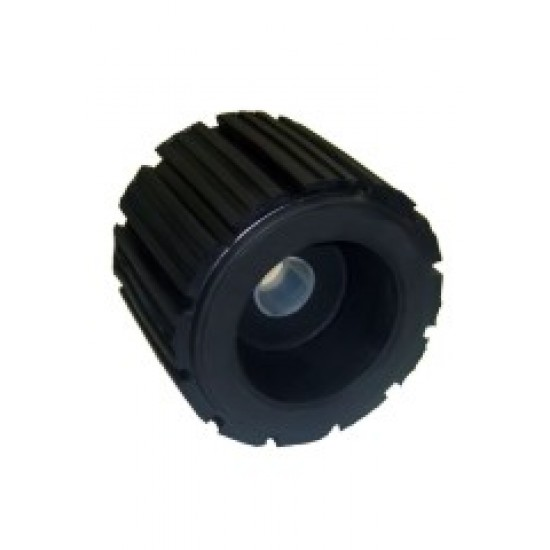 Side Roller,Ribbed, 126mm wide X 100mm with 24mm core