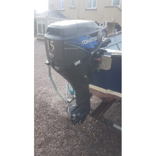 OSM 510F 17ft Skellig Fisherman Pre-owner, with engine and trailer
