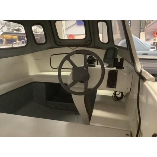 Orkney Strikeliner 16' with cuddy, console, compass, fishfinder & Trailer