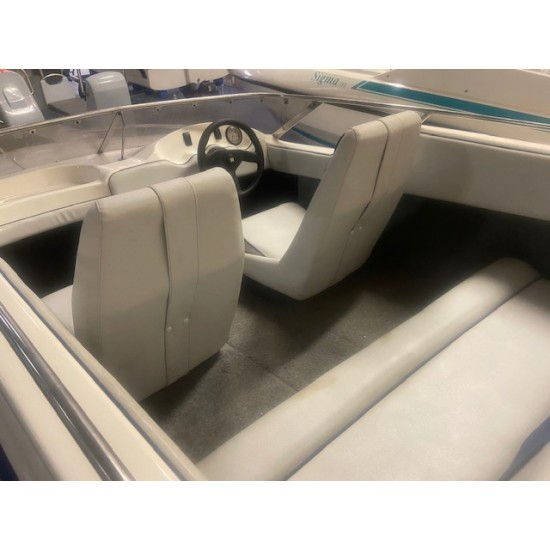 Plancraft Sigma 150 Blue 15' Powerboat **SOLD**