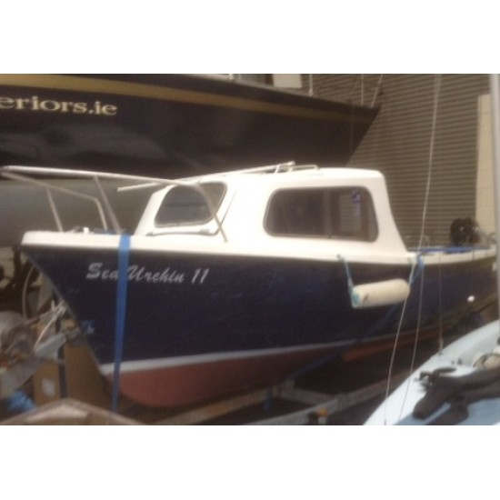 OSM 510 17ft Skellig Fisherman with Cuddy Pre owned with Engine, Trailer + many extras