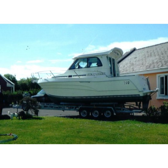 Starfisher 780 2 Berth with inboard and outboard engine and Trailer