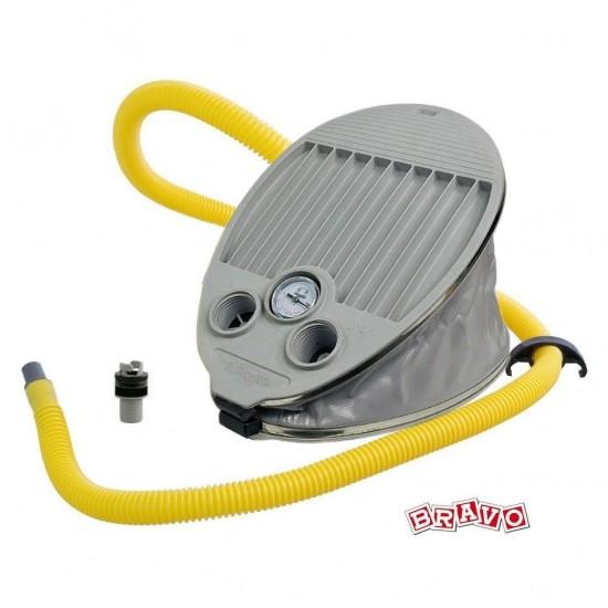 Bravo 8 Foot Pump - A 6.5 litre foot pump