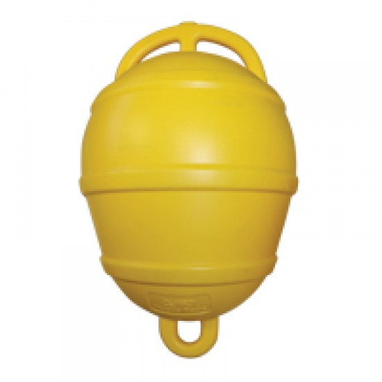 Mooring Buoy Rigid, Plastic, Ext Ø520mm, Yellow
