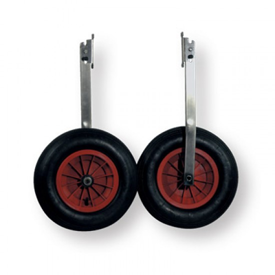 Dinghy Wheels (Pair) Stainless Steel
