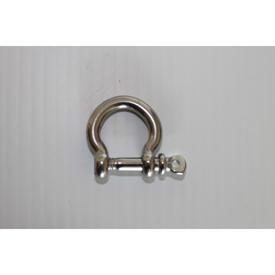 Bow Shackle 8mm AISI 316 Stainless
