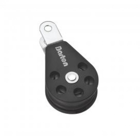 Barton Size 3 Single Plain fixed eye clevis pin