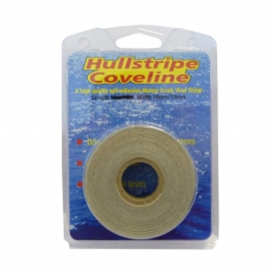 15m X 19mm Bright Gold Hullstripe Coveline