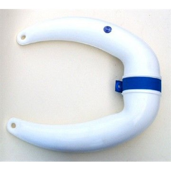 Bow Fender 20x7x30cm White