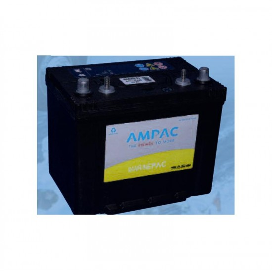 Ampac Dual Pole Marine 85 Battery