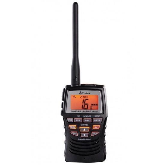 Cobra HH150 Handheld VHF Marine Radio