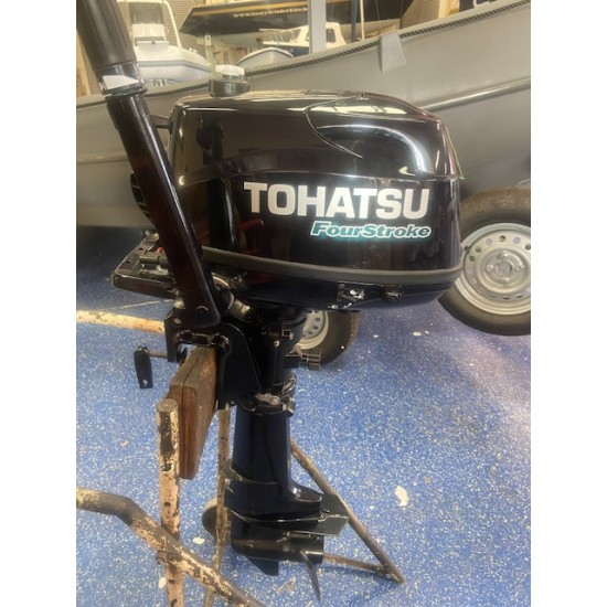 Tohatsu 5HP Short Shaft Pre owned Outboard Motor