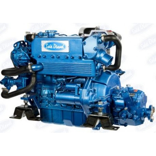 Sole Mini-55 Diesel Inboard Engine with TMC-60 Gearbox
