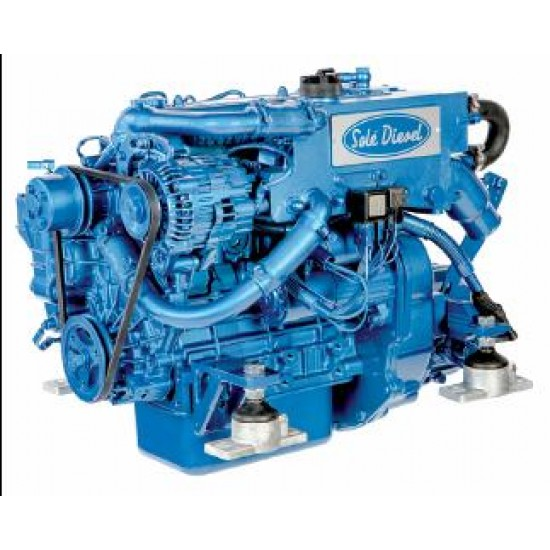 Sole Mini-29 Diesel Inboard Engine with TMC-40 Gearbox