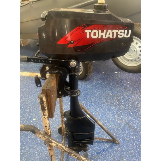 Tohatsu 2 Stroke 3.5HP Long Shaft Pre owned Outboard Motor 2006