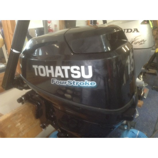 Tohatsu 15HP Long Shaft Pre owned Outboard Motor