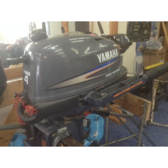 Yamaha 4HP Long Shaft Pre owned Outboard Motor