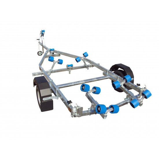 Extreme EXT750S 750kg Swing Trailer