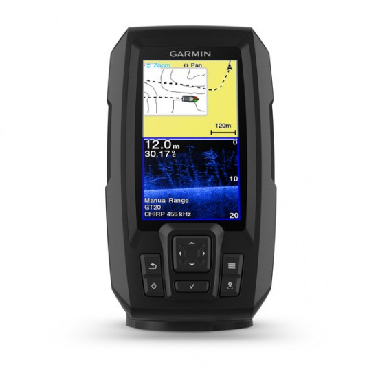 Garmin Striker Plus 4, Worldwide w/~Dual Beam