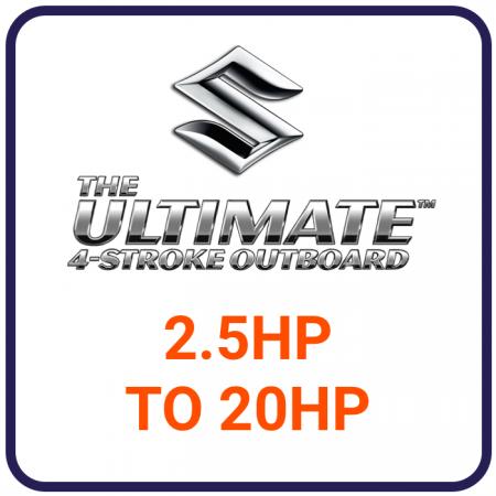 Suzuki 2.5HP to 20HP