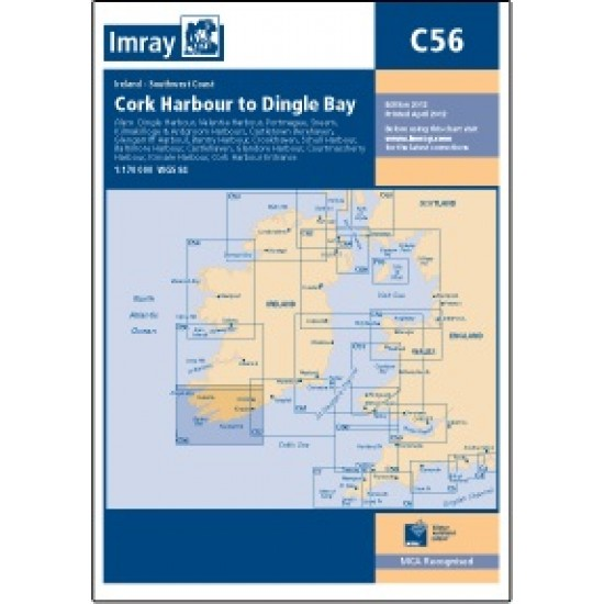 Imray C-56 Cork Harbour To Dingle Bay