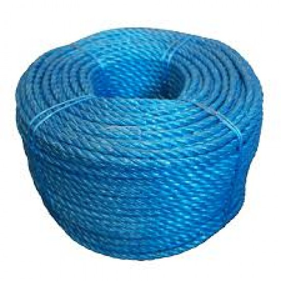 Blue Polypropylene Rope (Roll) 6mmX220m