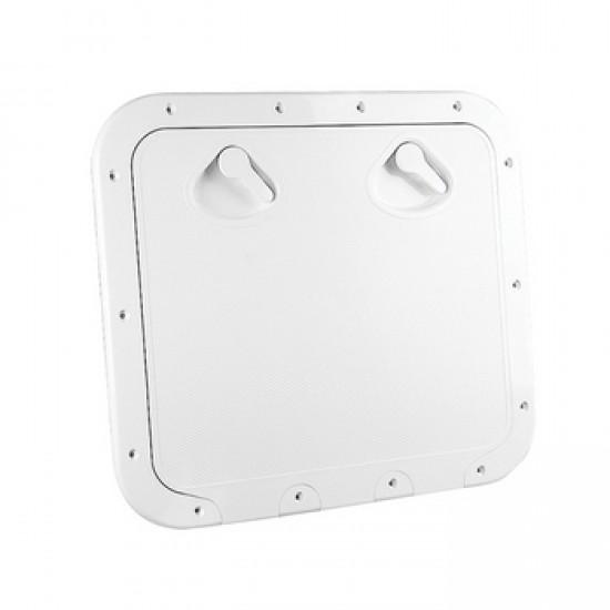 Deck Hatch, White, 463x517mm