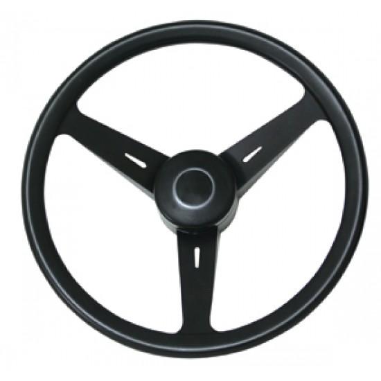 Steering Wheel, ''Classic'', Diameter 350mm, Black