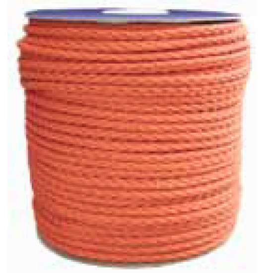 Orange Floating Rope, 6mm or 8mm