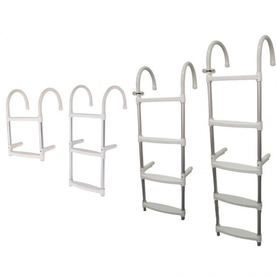 Boarding Ladder, 5-step, Aluminium