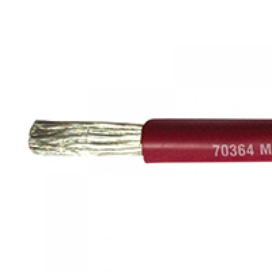 Marine Cable, Single core, Tinned, 1 x 1.5mm², Black or Red, per meter