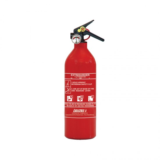 Fire Extinguisher dry powder, with bracket and Pressure Gauge 1kg, 2kg, 3kg, 6kg, 9kg