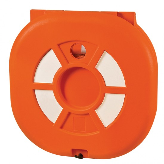 Lifebuoy Ring Container with Door