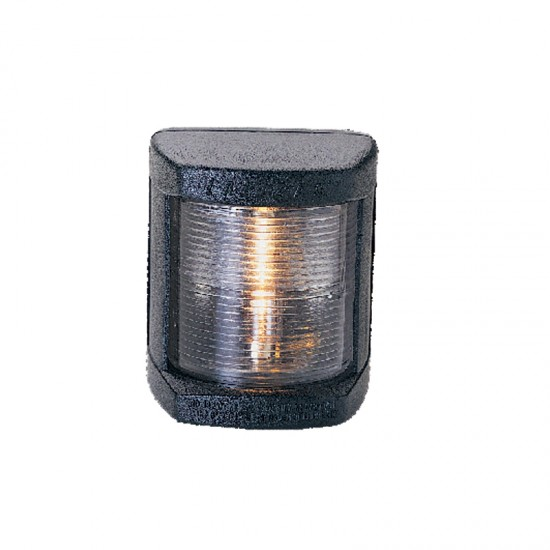 Navigation light stern white, Classic 12, 135° (black housing)