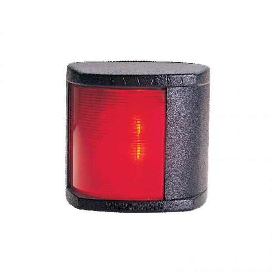 Navigation light port red, Classic 20, 112.5° (black housing)