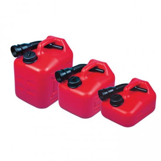 JERRYCAN Portable Fuel Tank 5L, 10L, 15L, 22L w/ Spout