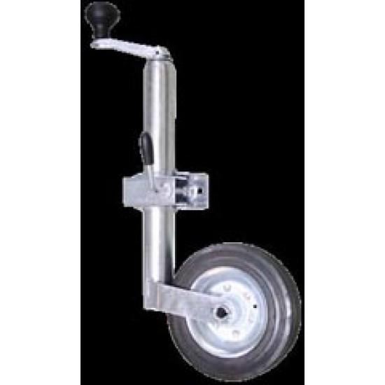 Jockey Wheel, 360Kgs, min height 500mm, max height 720mm, wheel 200x50mm