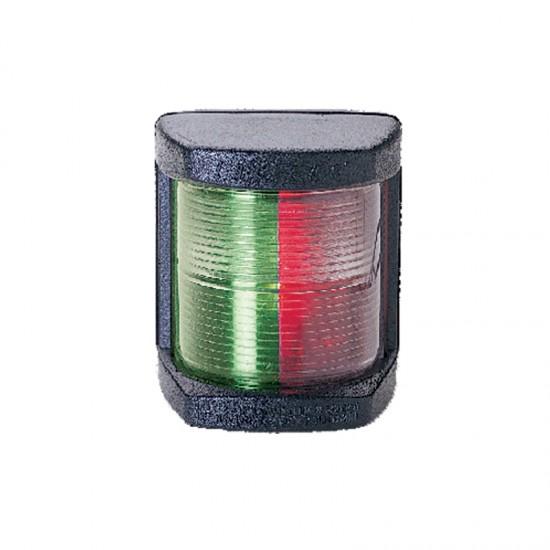 Navigation Light Bi-colour, Classic LED 12, 225°, 12-24v, (Black housing)