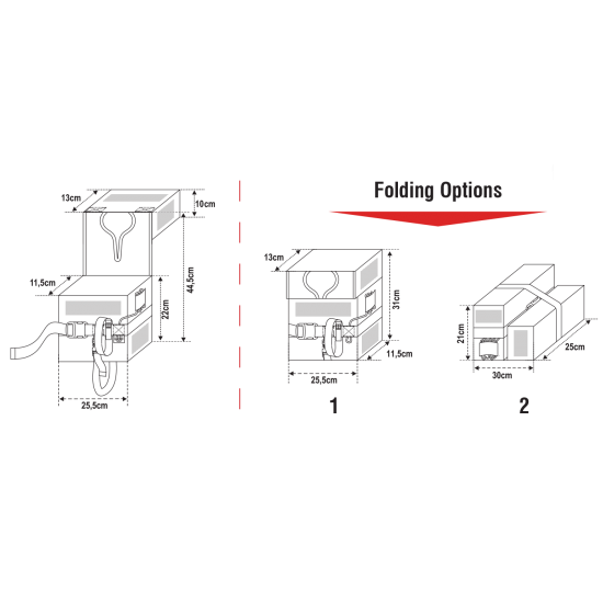 LALIZAS  Compact Folding Lifejacket SOLAS LSA Code 2016, child