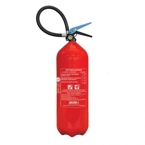 Fire Extinguisher Foam, stored Pressure with wall bracket, 9L
