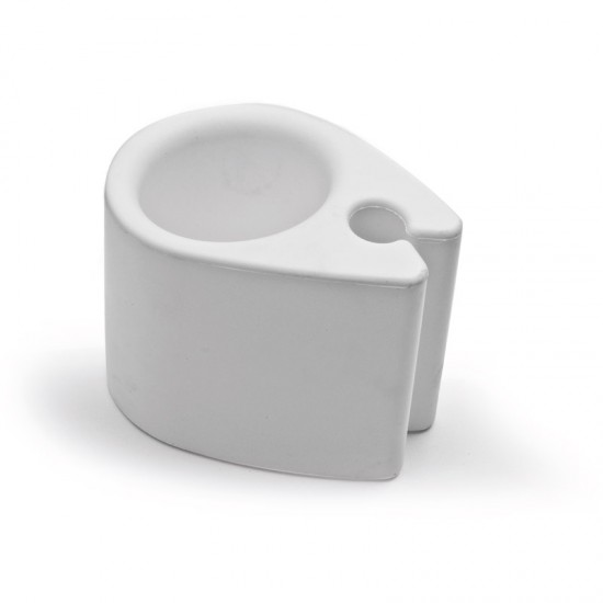 Clip on Can Holder, White, 13cm X 9cm X 10cm