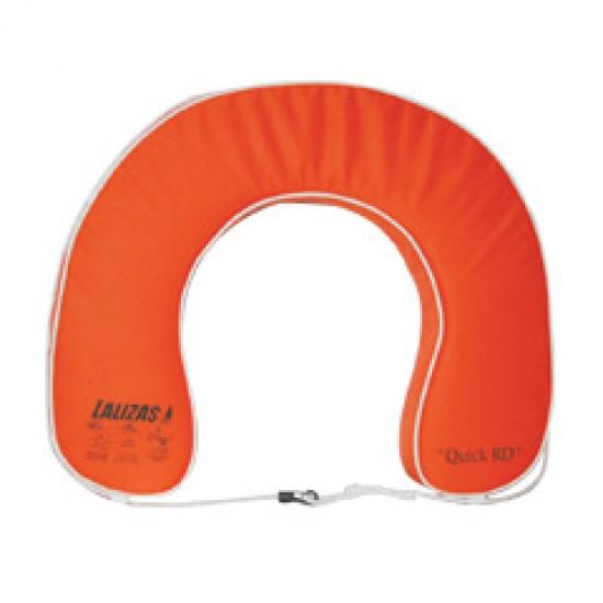 """Horseshoe Lifebuoy """"Quick RD"""" 142N, Orange"""