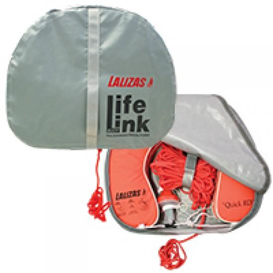 """Horseshoe Lifebuoy """"Quick RD"""" 142N, Orange Set, c/w light, 30m rope, case"""