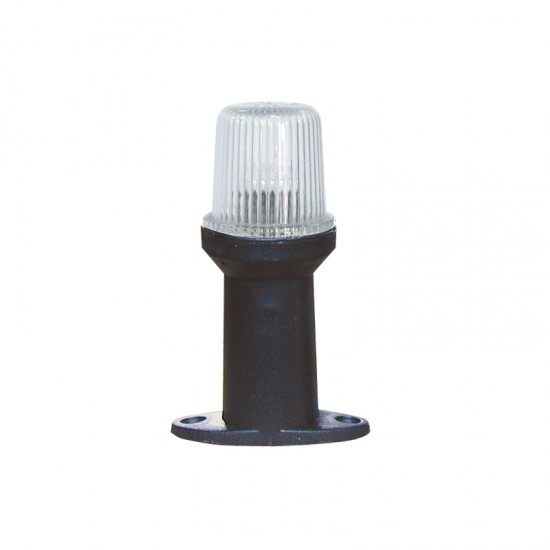Navigation Pole Light 12 bulb All round 360° with black housing