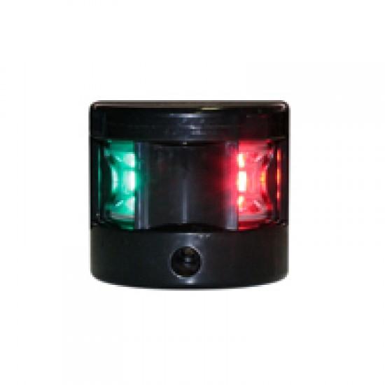 Navigation light Bi-colour, LED FOS 12, (black housing)