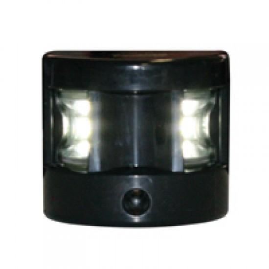 Navigation light Masthead, LED FOS 12, 225°  (black housing)